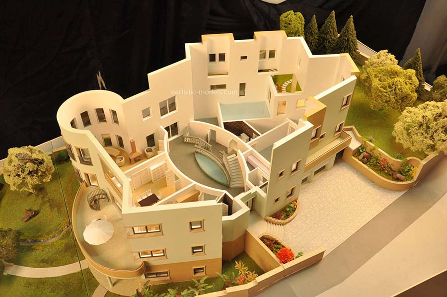 Interior Scale Model Makers - 3D View of your Space
