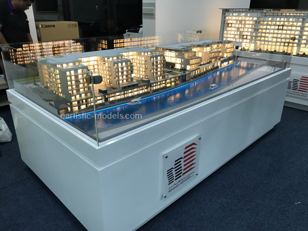 Luxurious Model Making Project Al-Raha Lofts Abudhabi by Artistic