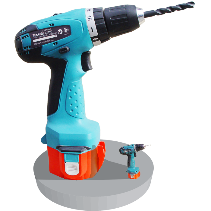Makita Driller - A Scale Up Model Project