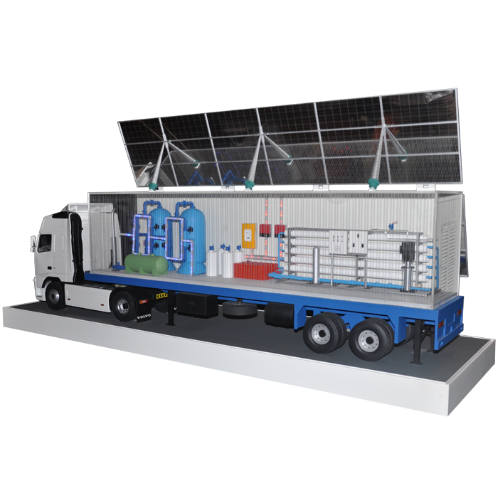 Industrial Model Project - PVRO Truck
